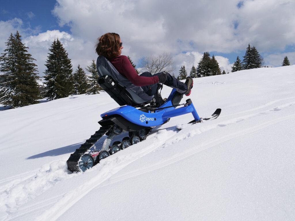 E-trace, innovation dans les sports de glisse et d'hiver